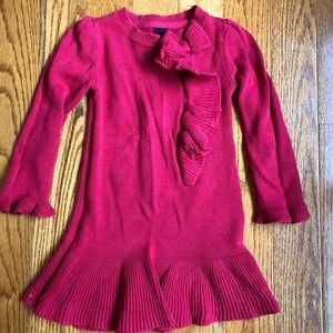 Gap sweater dress girls size 3T